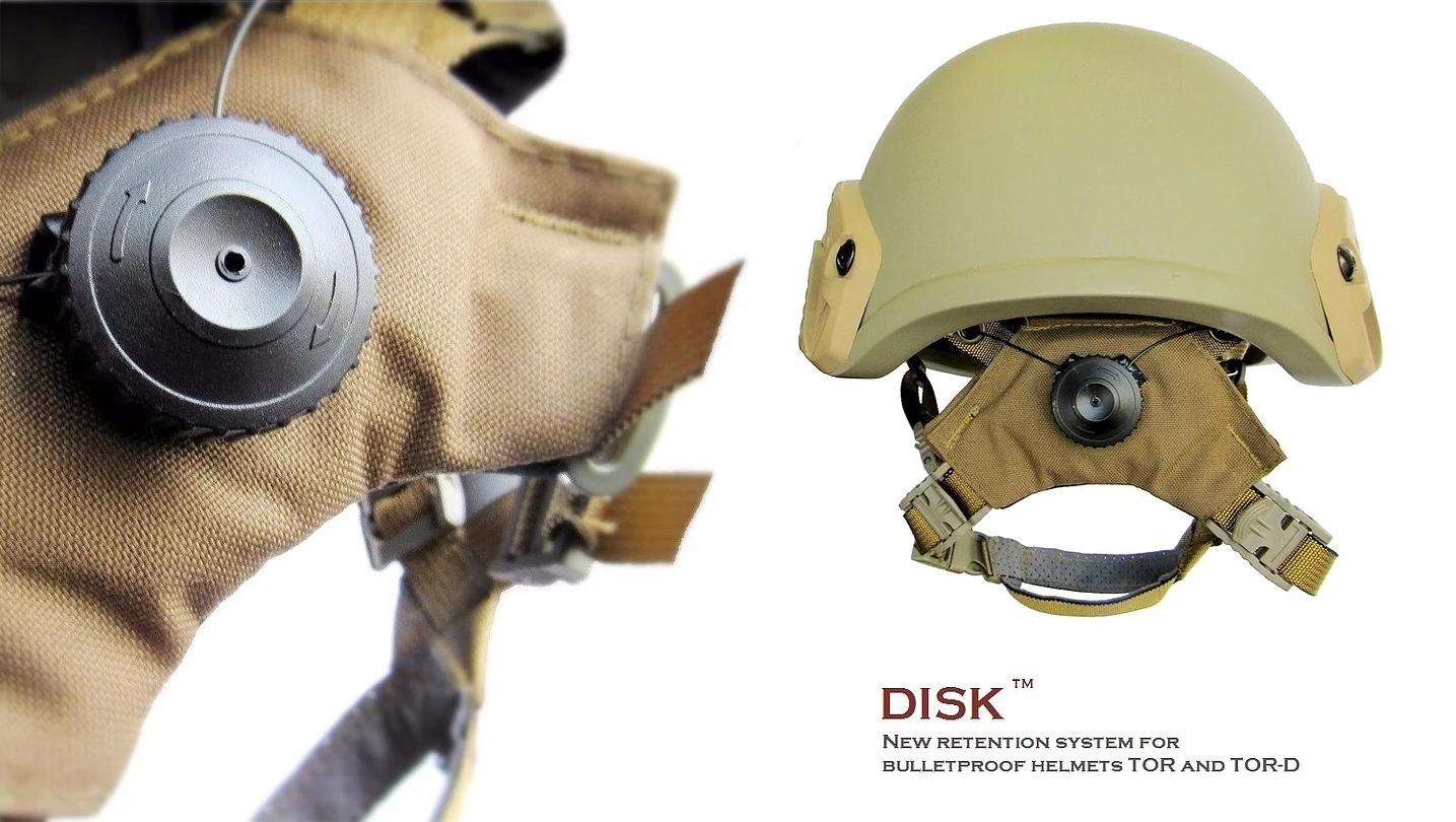 Новинка від компанії UaRms - утримувальна система DISK для шоломів TOR і TOR-D