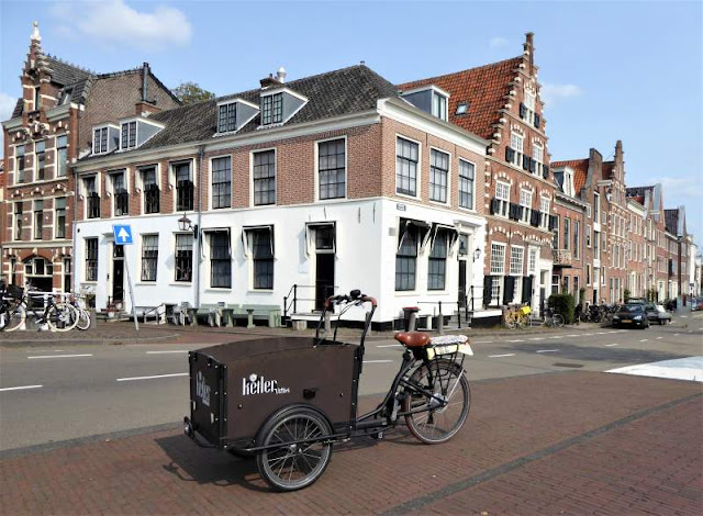 centro storico vicino fiume spaarne Haarlem