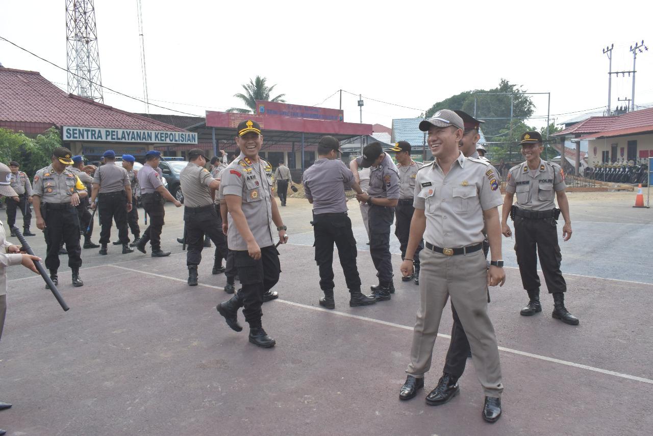 Tingkatkan Kemampuan Personel, Polres HSU Latih Penggunaan