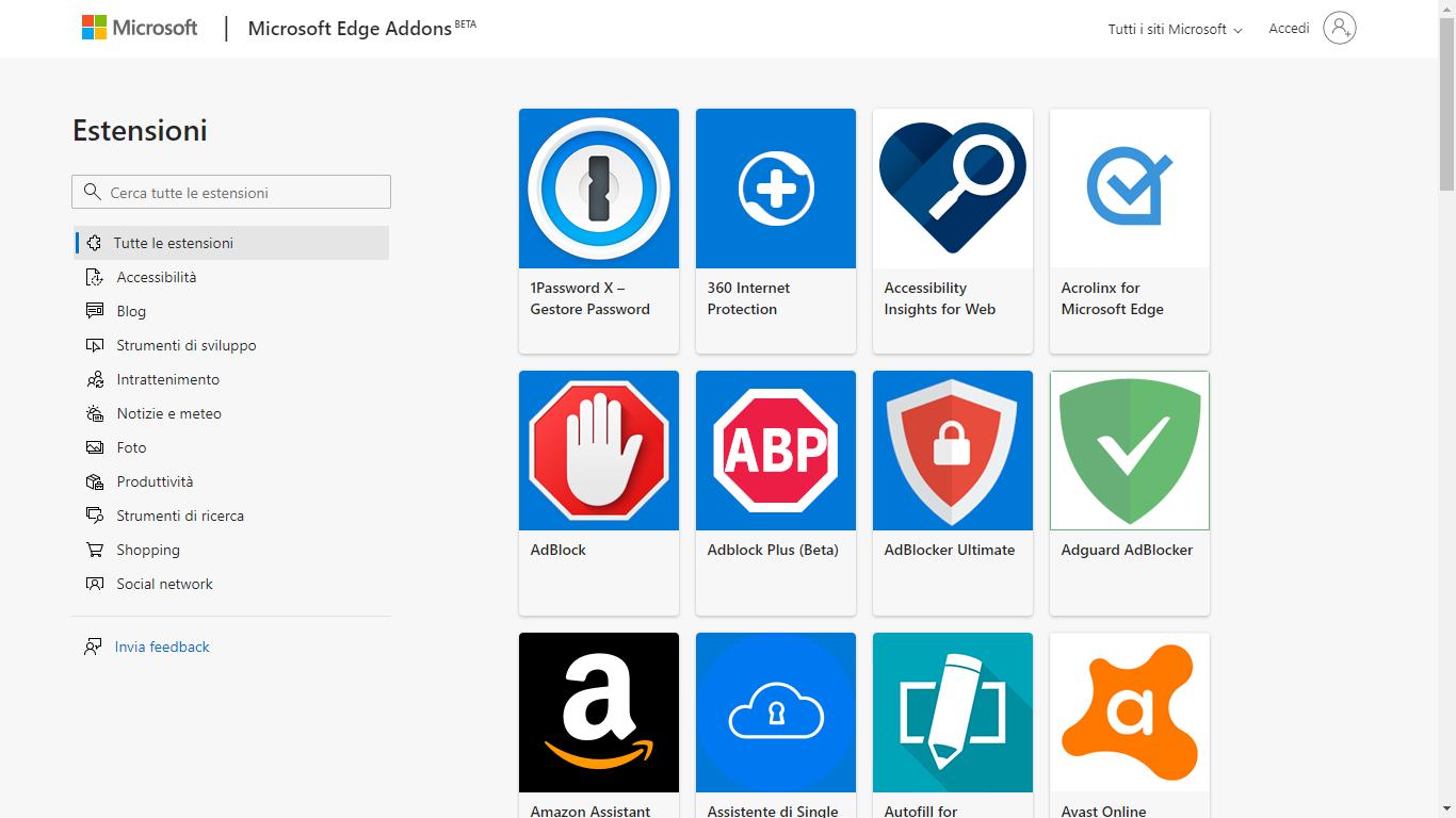 Adesso potete creare le vostre estensioni per il nuovo Microsoft Edge