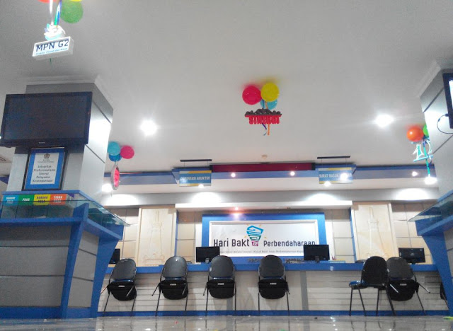 Dekorasi Ramadhan di Kantor Keuangan