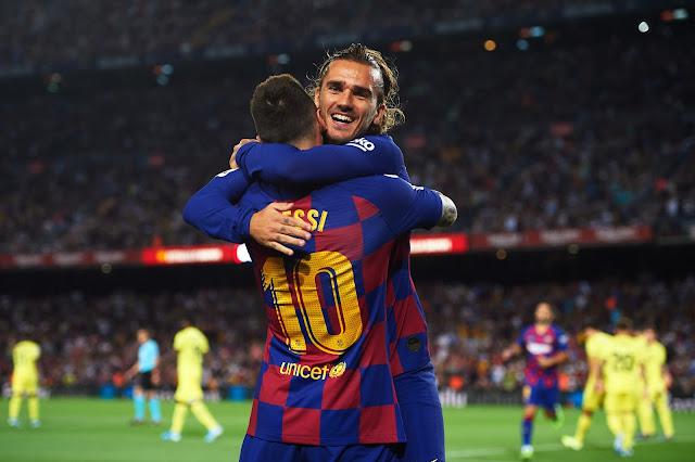 تشكيل برشلونة ضد انتر ميلان عبر سوفت سلاش