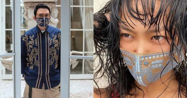 Masker Unik Karya Desainer Indonesia, Bisa Jadi Tren ...