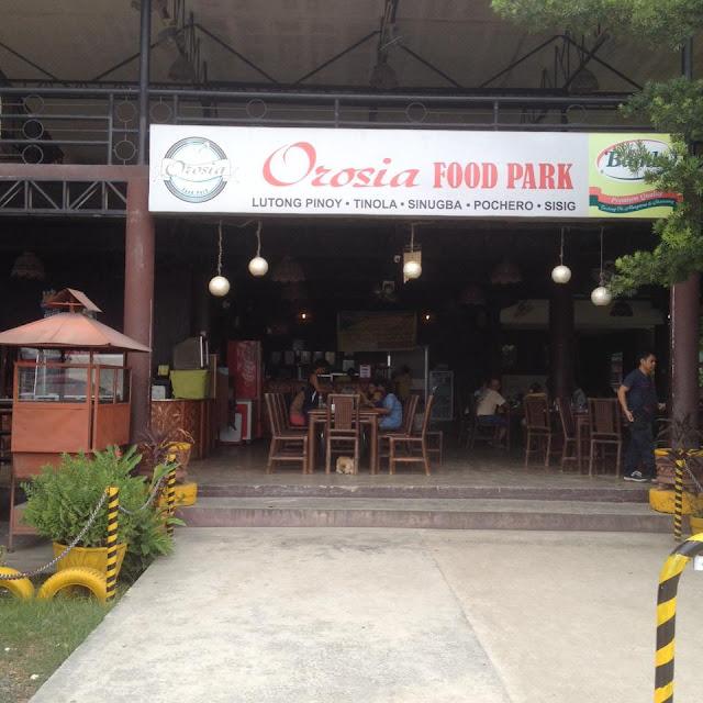 Orosia Food Park in Consolacion Cebu