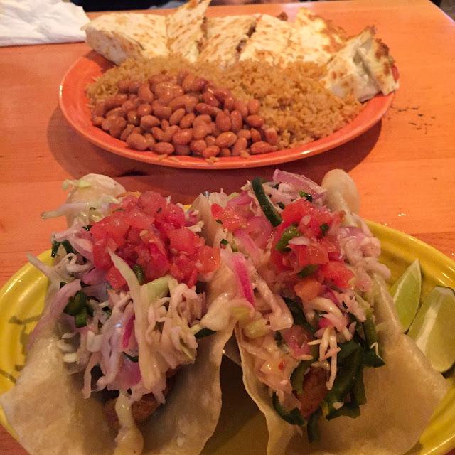 Crispy Fish Taco | Sharky's Cantina | Edgartown | Chichi Mary Blog