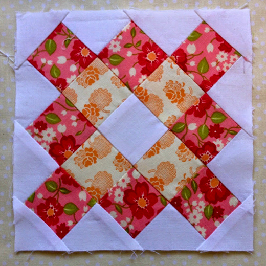 Grandmother's Pride Block designed By Rose Johnston of Threadbare Creations