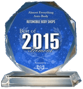 2015 Best of Fremont-Best Auto Body Shop-Almost Everything Auto Body