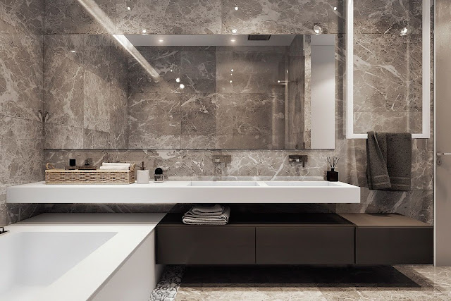 Attached Bathroom Design