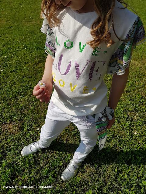 T-Love moda bambina primavera - estate 2020