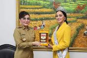 Bupati CEP Terima Kunjungan Putri Indonesia