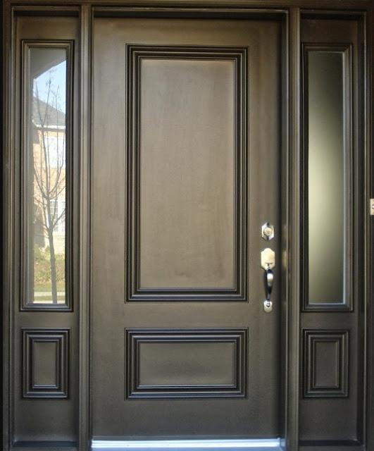 pintu rumah minimalis 2 pintu besar kecil 2016