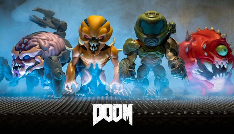 Doom Eternal Chibi Action Figures Collection Revealed