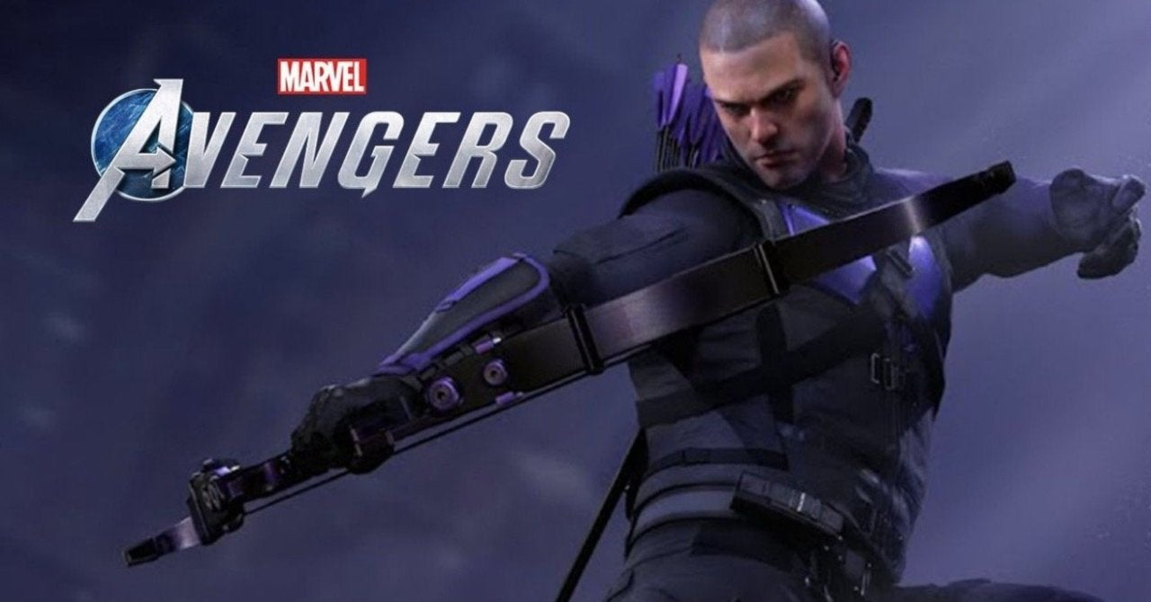 Marvel's Avengers Hawkeye hero