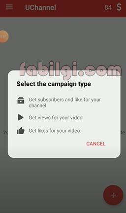 Youtube Bedava Abone ve İzlenme Hilesi Uygulama UChannel 2020