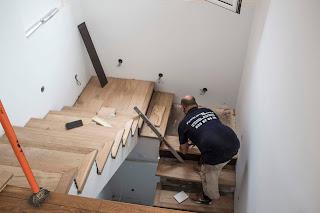 forrar unas escaleras con parquet