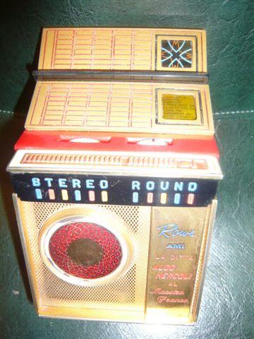 Radio a transistor pubblicitaria - Jukebox