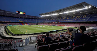 Catalonia's health minister confirms no fans for Barcelona home games against Ferencvaros or Real Madrid
