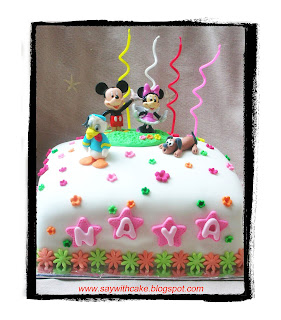 Say With Cake Birthday Cake For Naya