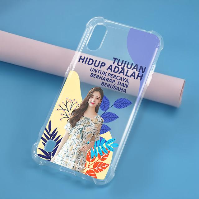 Mockup Case Anticrack Samsung A01