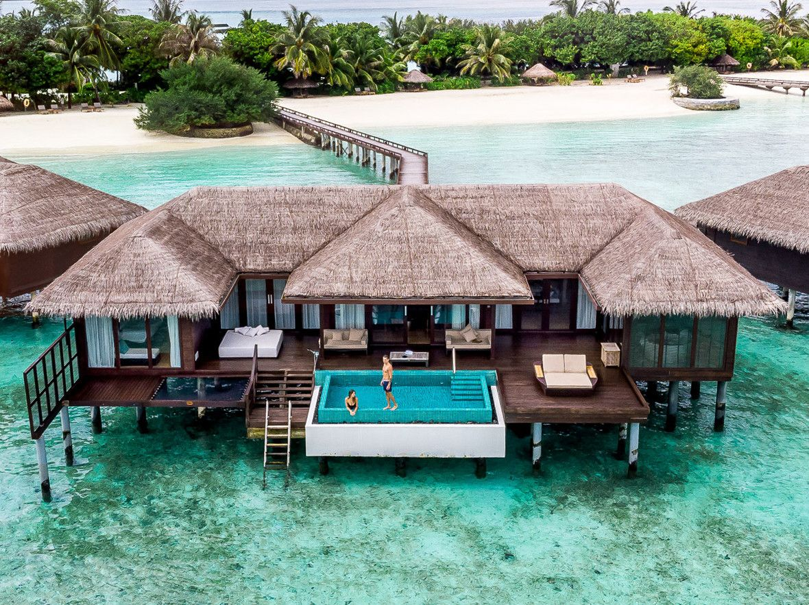 Отель Sheraton Maldives Full Moon Resort & Spa на Мальдивах