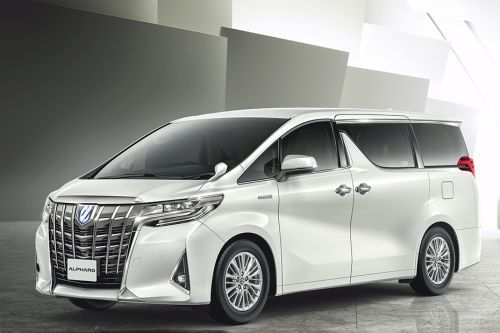 Harga Mobil Toyota Alphard 2019