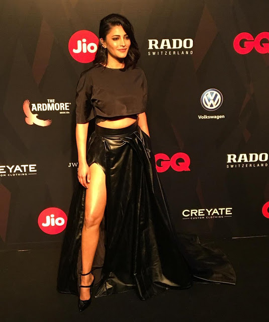 Shruti Haasan At GQ Best Dressed 2017 Party Photo Gallery
