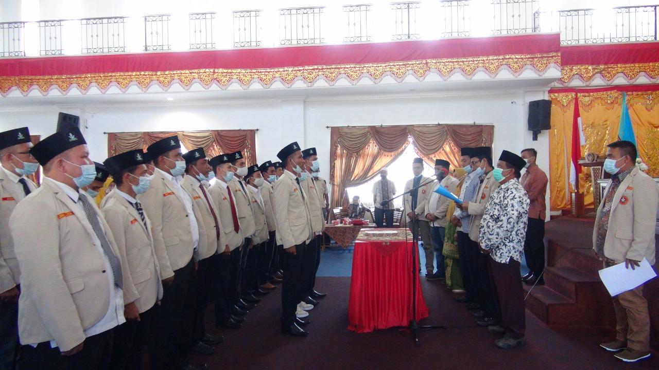 Wabup Risnawanto Hadiri Pelantikan Pengurus Pimpinan Daerah Pemuda Muhammadiyah Pasbar