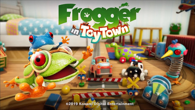 Best Apple Arcade Games frogger in Toy Town