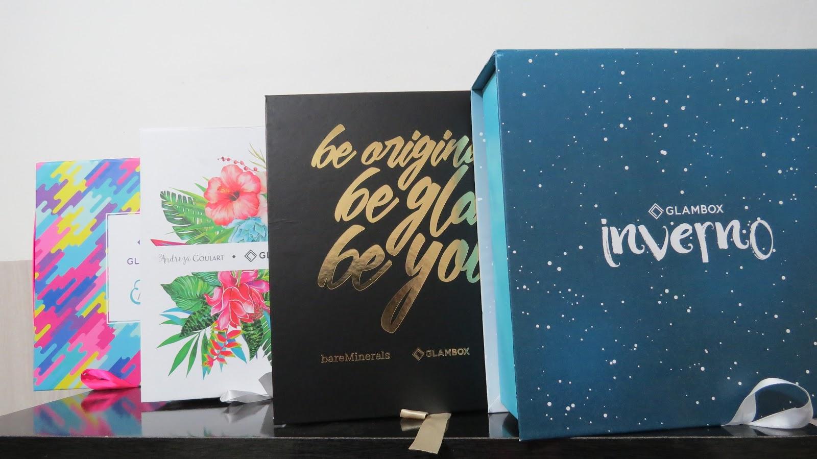 Essas foi as edições que recebi até agora, tem mais caixas porém como elas  são lindas, as amigas acaba pegando e levando em bora kkk. 27b44bccbc