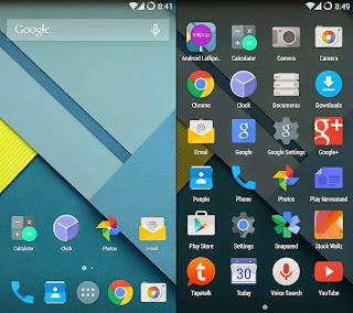 Free Download Android Lollipop Nexus 6 Theme .APK Full