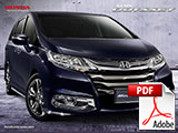 Brosur Mobil Honda Odyssey Bandung