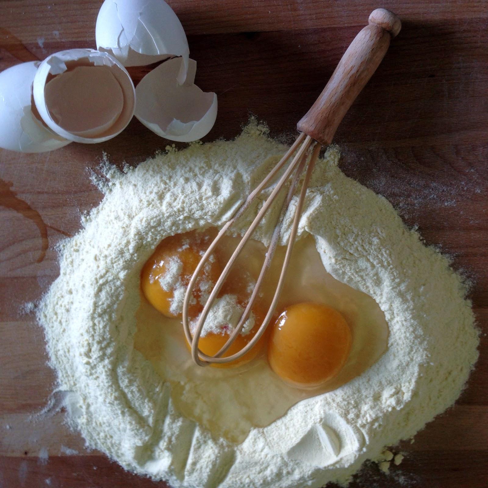 Ricette pasta fatta in casa tipo pettoline