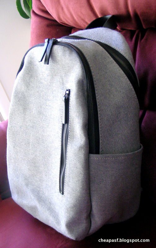 Review of Everlane Modern Commuter Backpack in Reverse Denim