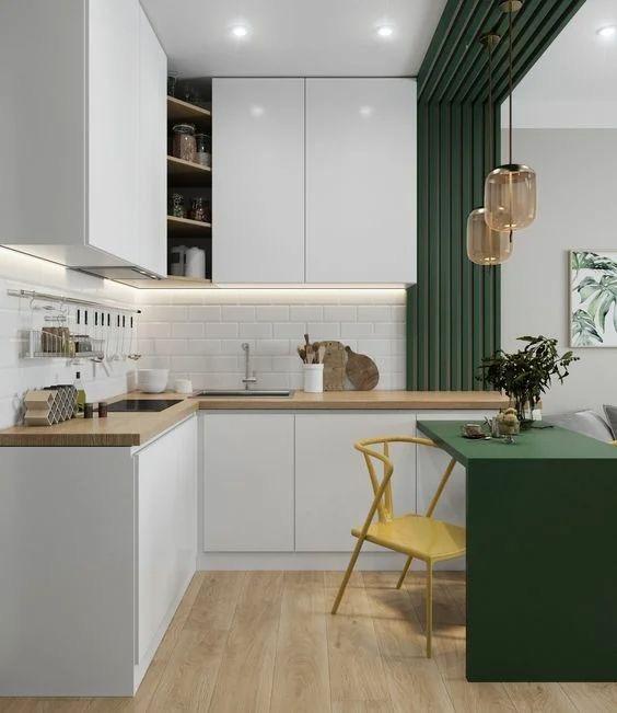 L Shaped Modular Kitchen Designs 2021