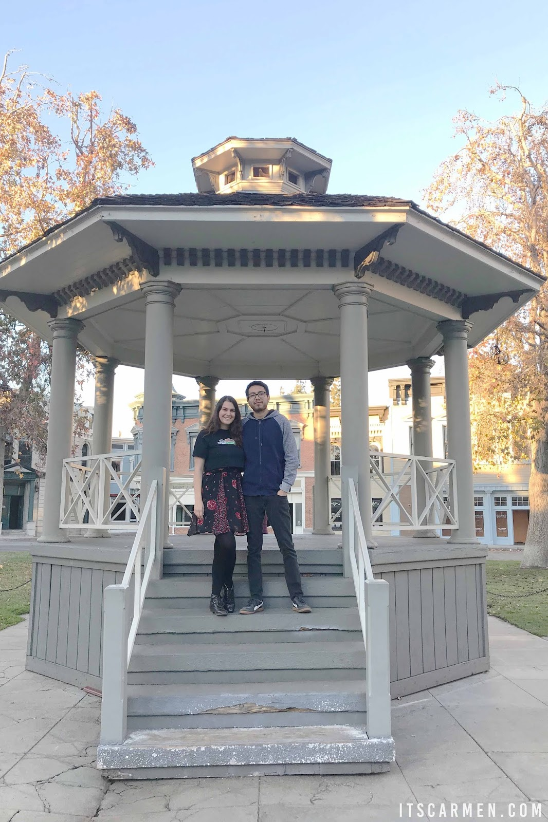 The iconic gazebo in Stars Hollow Where Was Gilmore Girls Filmed? Where Is Stars Hollow?