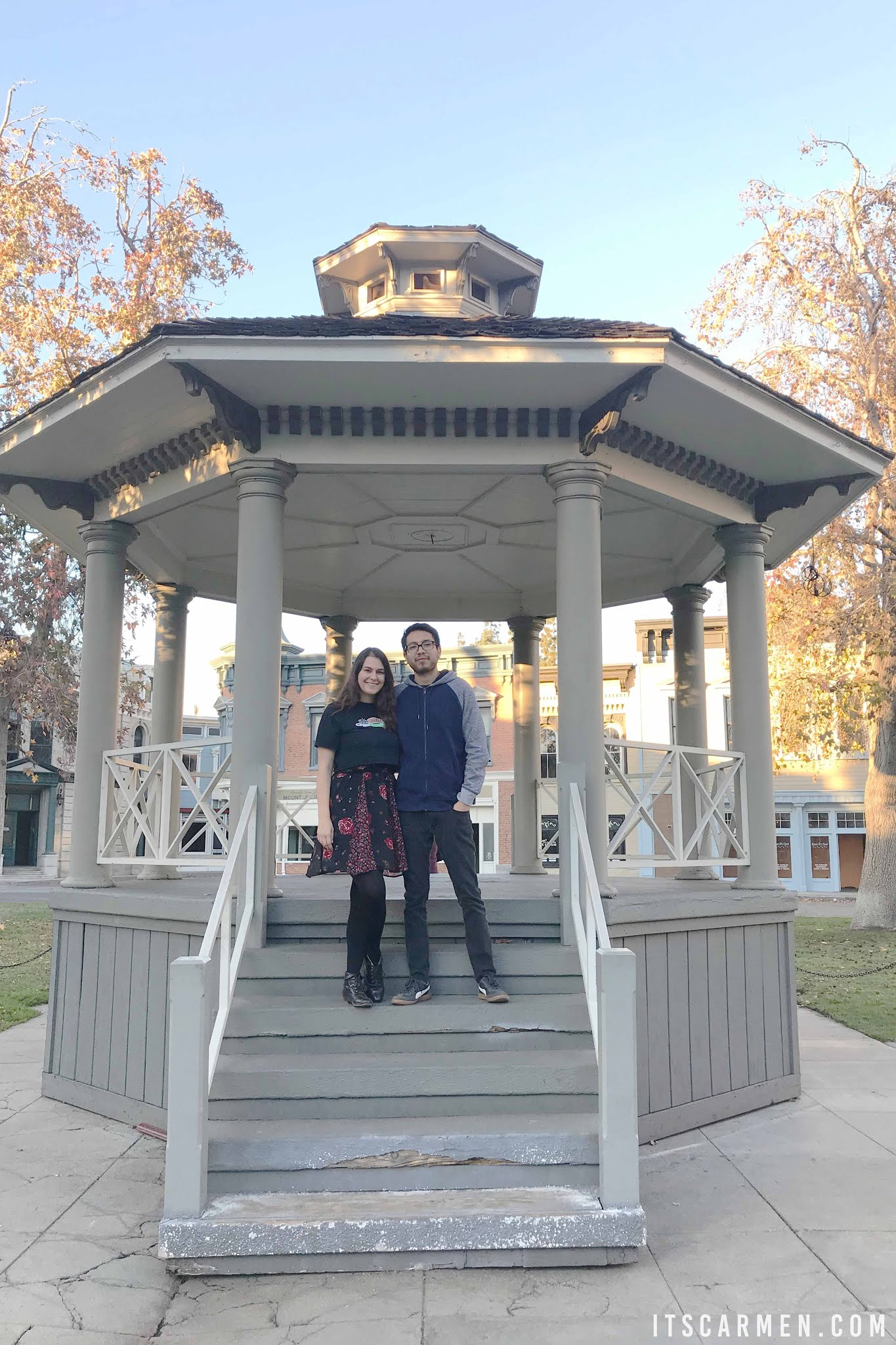 The iconic gazebo in Stars Hollow Where Was Gilmore Girls Filmed? Where Is Stars Hollow? where was gilmore girls filmed where is gilmore girls filmed gilmore girls filming location where is stars hollow filmed gilmore girls set where did they film gilmore girls gilmore girls location  stars hollow location