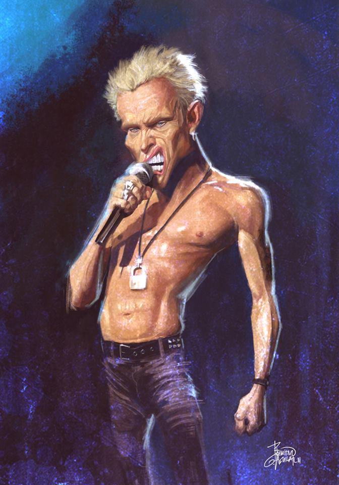 Billy Idol por Tivo Aguilar