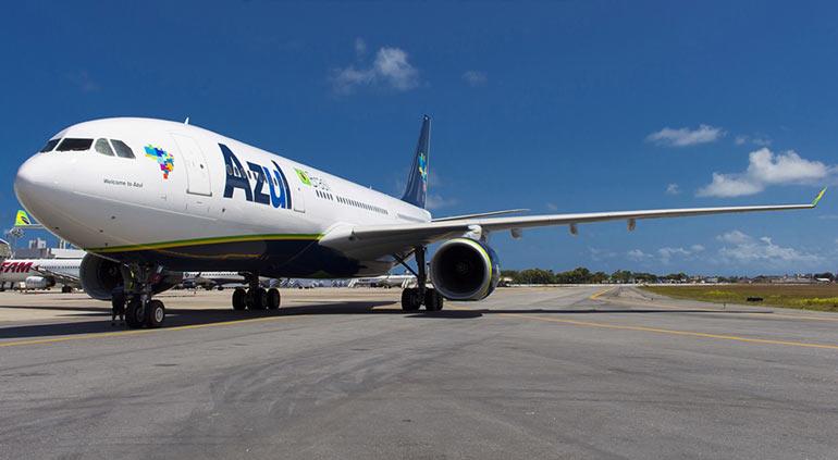 Azul vai ampliar voos entre Natal e Recife
