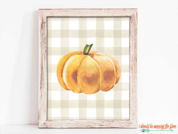 Pumpkin Printable