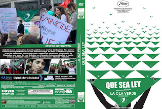 CARATULA LA OLA VERDE-QUE SEA LEY 2019[COVER DVD]