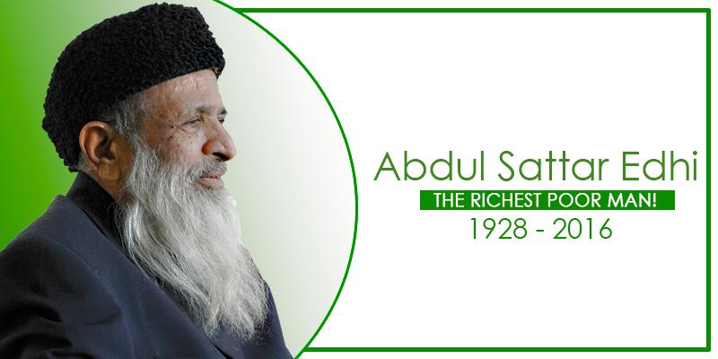 Abdul Sattar Edhi - Tribute individual