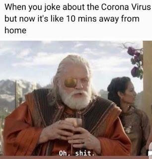 Corona Virus Meme