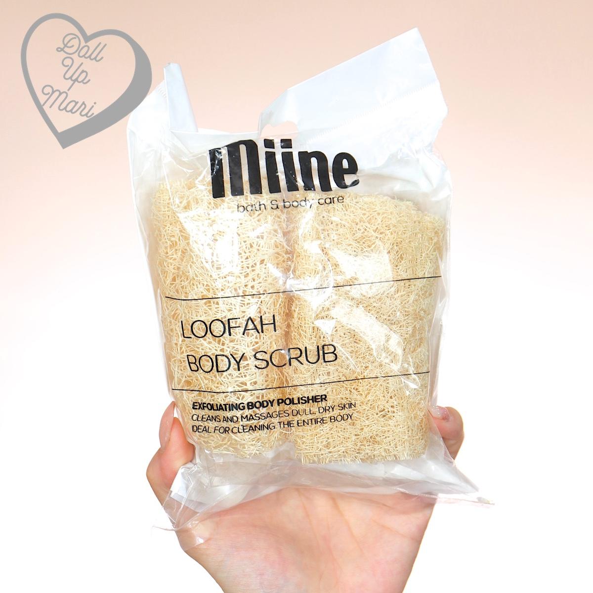 Miine Loofah Body Scrub