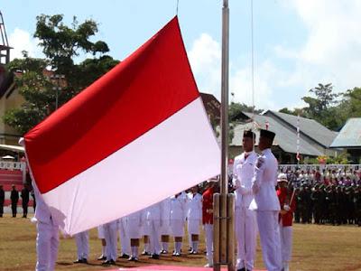 Upacara HUT Ke-73 Kemerdekaan RI Tahun 2018 di MTB