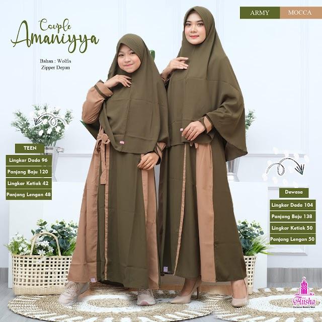 Gamis Amaniyya di Aiisha Ready Lagi