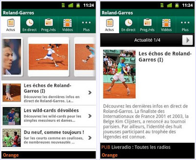 French open tennis 2016 live score