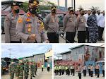 Kapolres Nias Pimpin Apel Pengamanan Malam Takbiran Hari Raya Idhul Adha 1442 H/ 2021