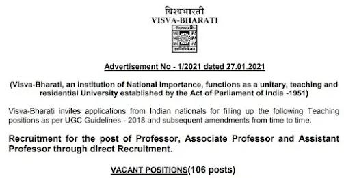Professor, Associate Professor and Assistant Professor