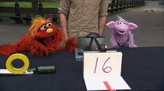 Murray Ovejita Sesame Street sponsors number 16, Sesame Street Episode 4319 Best House of the Year season 43