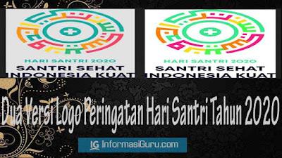 Download Logo Peringatan Hari Santri Nasional Tahun 2020 File JPEG dan PNG